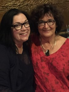 Gail Picco and Judy Rebick (Toronto)